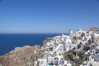 santorini island greece anna pension